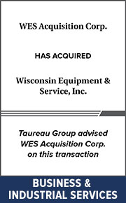 Taureau Group advised WES Acquisition Corp. on this transaction