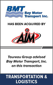 Taureau Group  advised Bay Motor Transport, Inc. on this transaction