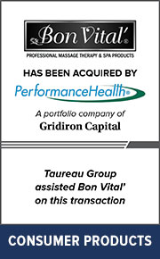 Taureau Group assisted Bon Vital' on this transaction