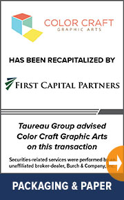 Taureau Group  advised Color Craft Graphic Arts on this transaction