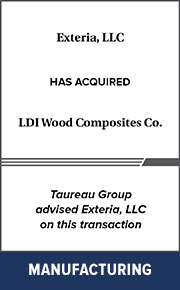 Taureau Group advised Exteria, LLC on this transaction