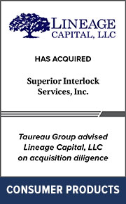 Taureau Group advised Lineage Capital, LLC on  acquisition diligence
