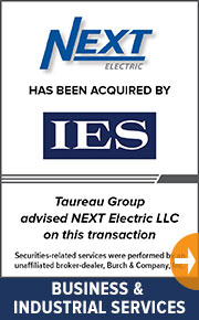 Taureau Group  advised NEXT Electric in this transaction