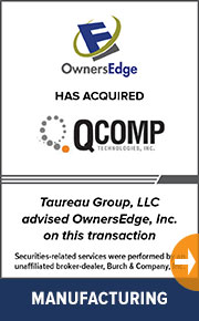 Taureau Group advised OwnersEdge, Inc. on a new transaction