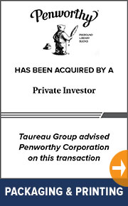 Taureau Group advised Penworthy Corporation. on  this transaction