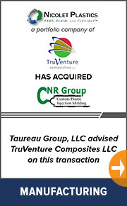 Taureau Group advised TruVenture Composites on a new transaction